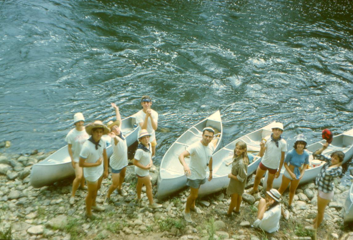 CANOE TRIP '66 AUG